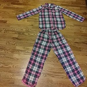 Gap Girls flannel pajamas size 8